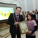 DCIF logo winner Lochlann King with DCC Lord Mayor Cllr Naoise OMuir°